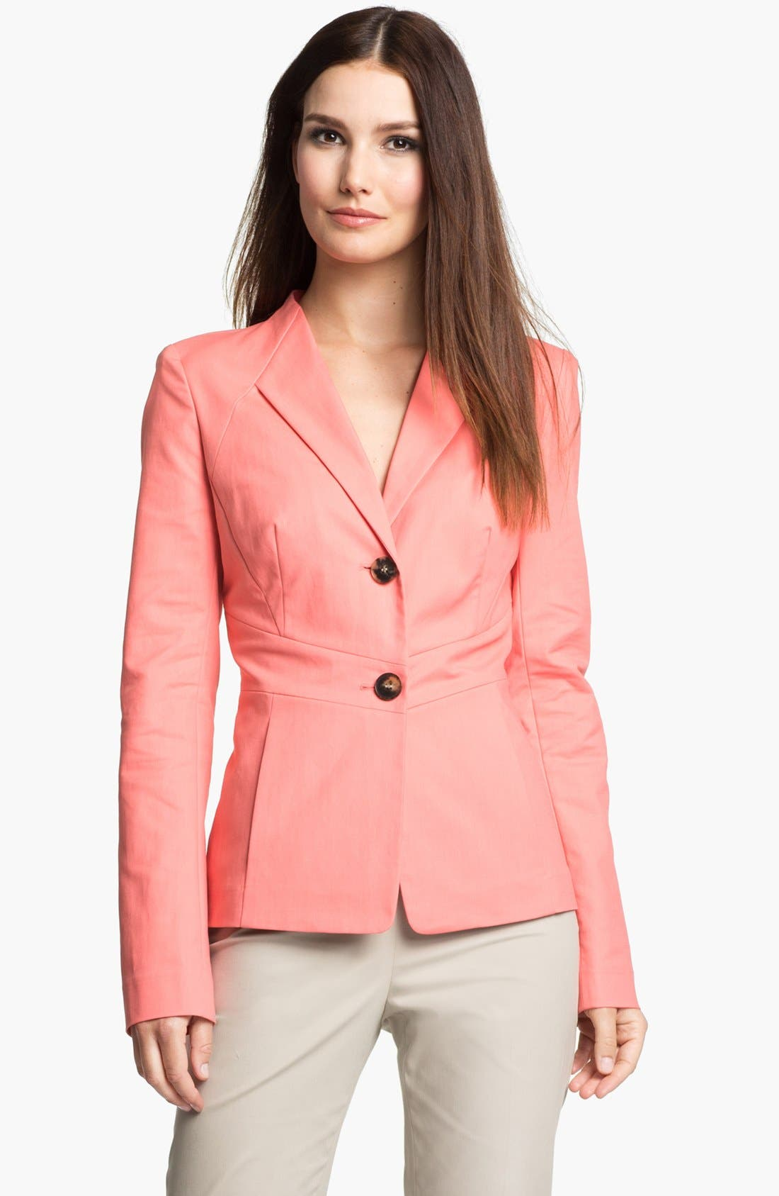Main Image - Lafayette 148 New York 'Bailey - Metropolitan Stretch' Jacket