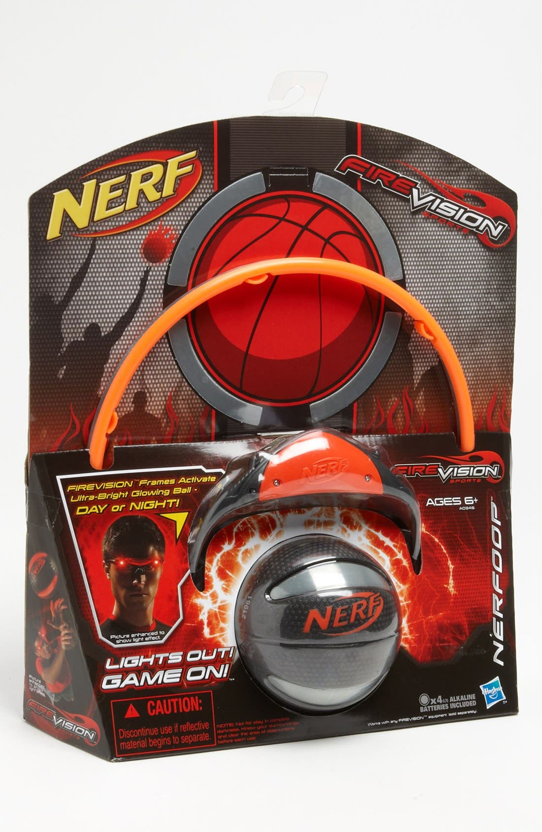 Alternate Image 1 Selected - Play Visions Toys 'FIREVISION™' Glasses, Mini Basketball & Hoop