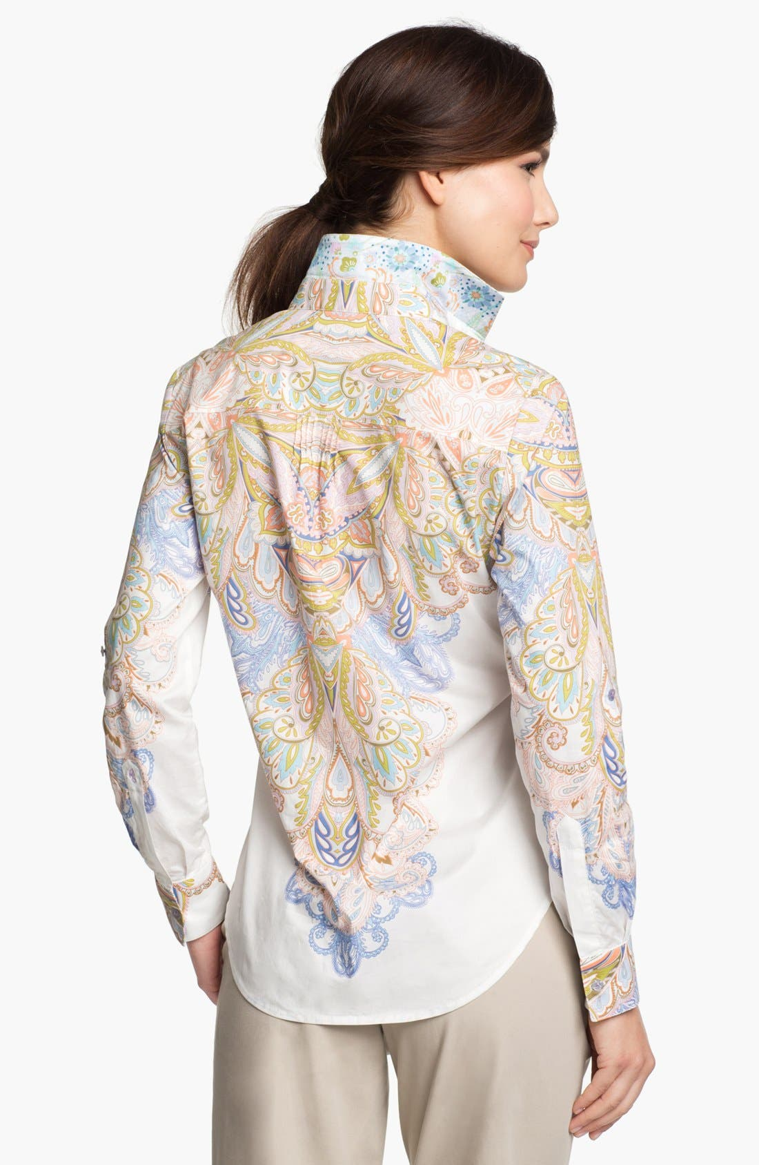 Alternate Image 2  - Robert Graham 'Whitney' Long Sleeve Blouse