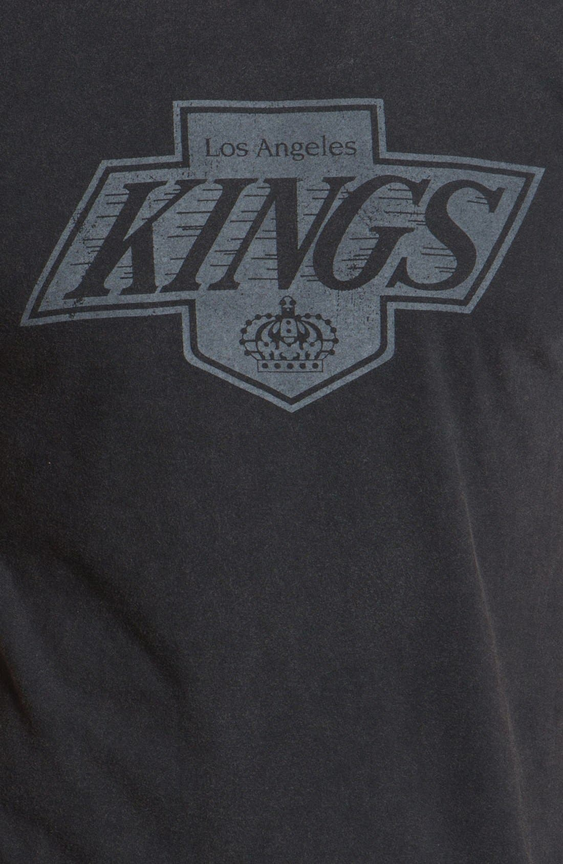 Alternate Image 3  - Red Jacket 'Los Angeles Kings - Remote Control ' T-Shirt