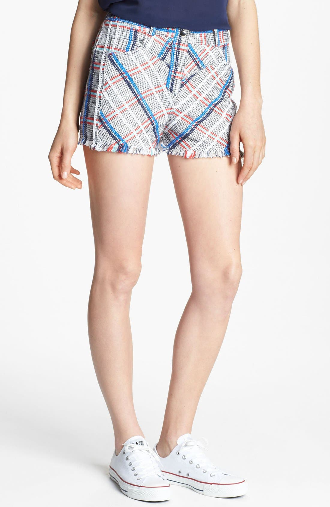 Alternate Image 1 Selected - Rebecca Minkoff 'Saratoga' Woven Shorts