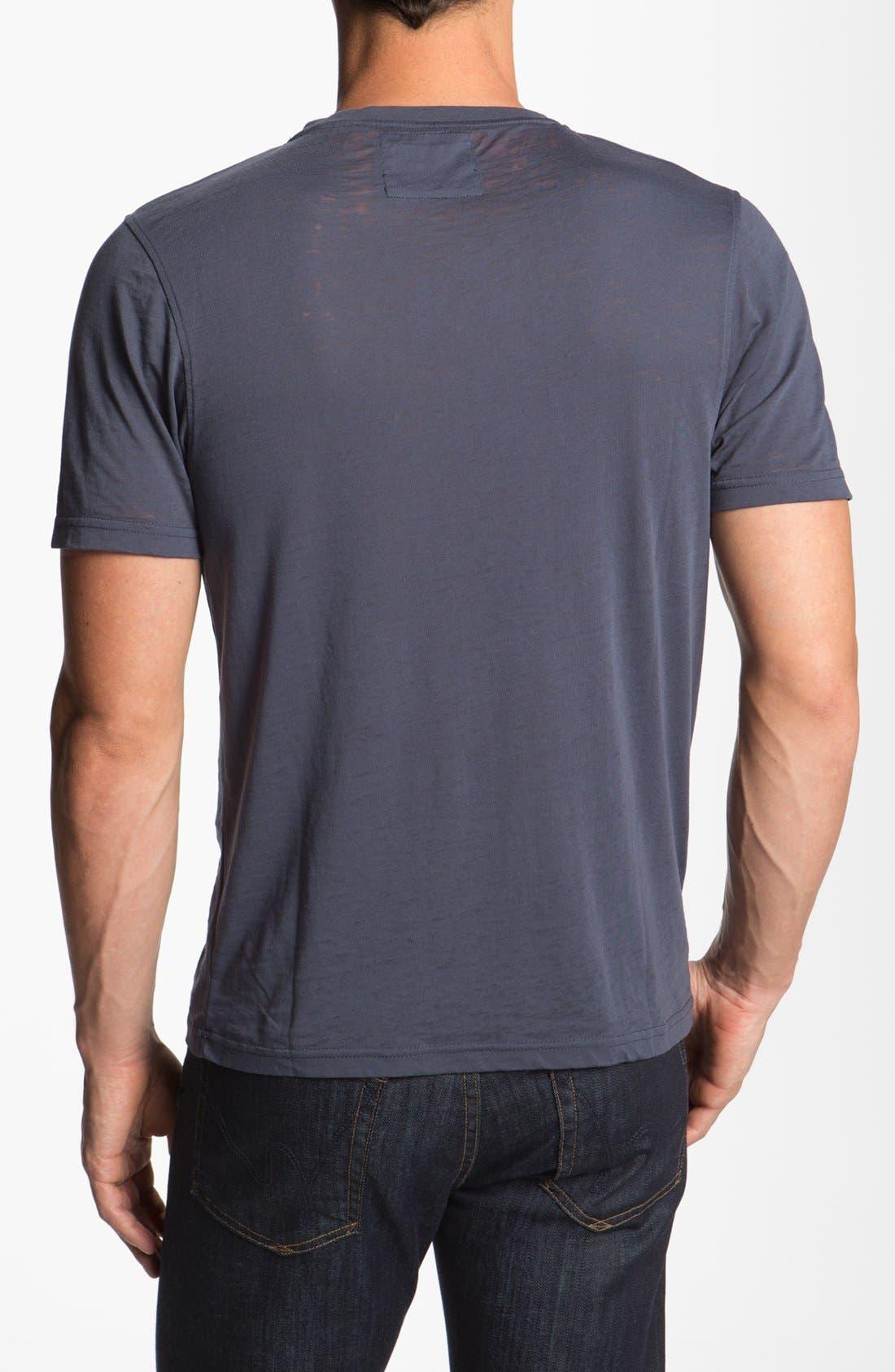 Alternate Image 2  - Red Jacket 'Tigers - V-Wood' V-Neck T-Shirt