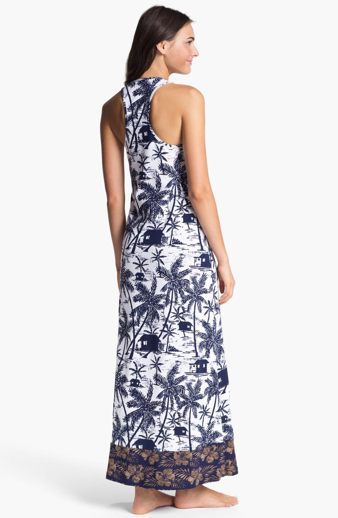 Alternate Image 2  - Tommy Bahama Long Cover-Up Dress