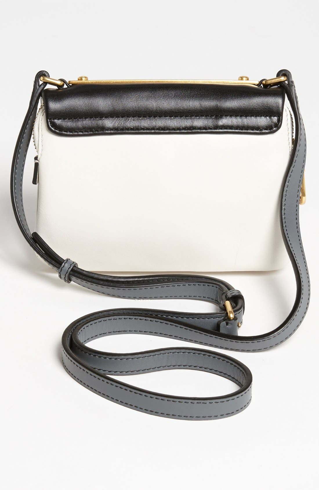 Alternate Image 4  - MARC BY MARC JACOBS 'Goodbye Columbus - Mini' Leather Crossbody Bag