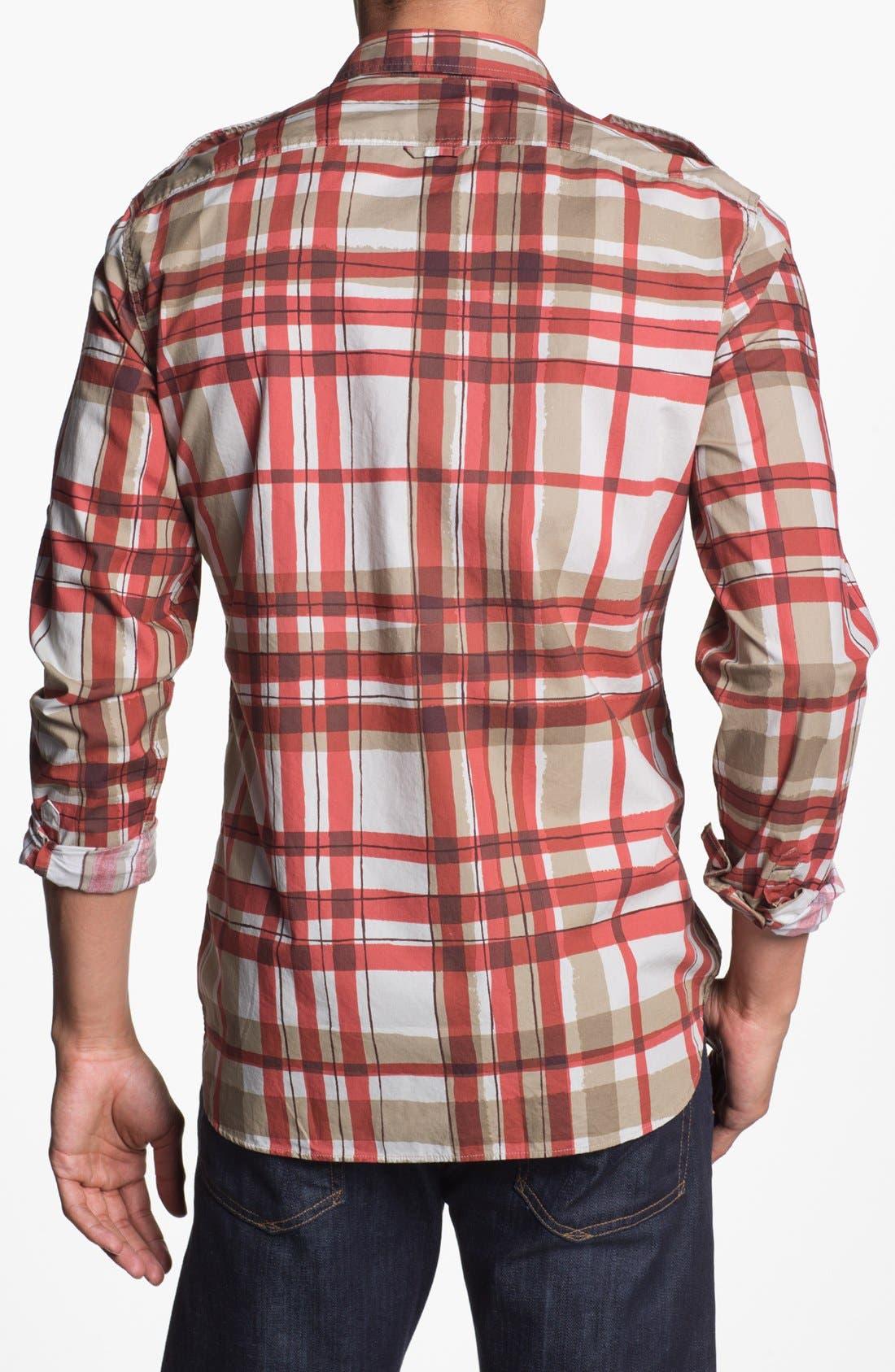 Alternate Image 2  - Burberry Brit 'Rainton' Trim Fit Sport Shirt