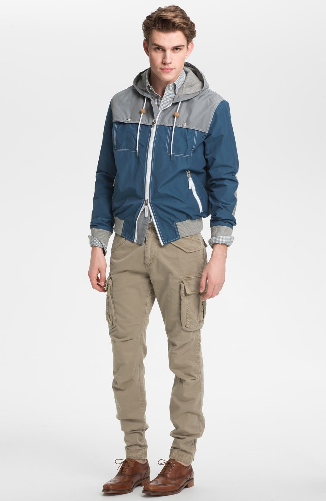 Alternate Image 4  - Gant by Michael Bastian Hooded Windbreaker