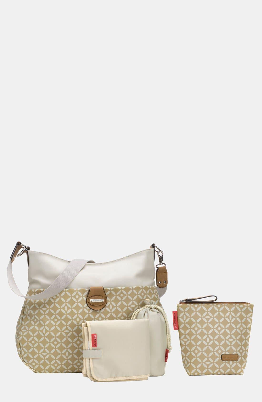 Alternate Image 3  - Storksak 'Nina' Diaper Bag