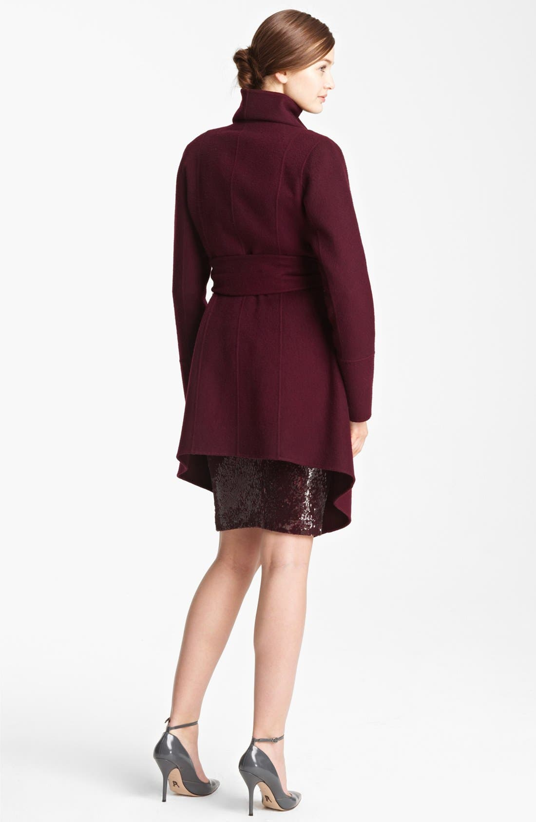 Alternate Image 2  - Donna Karan Collection Belted Cashmere Coat