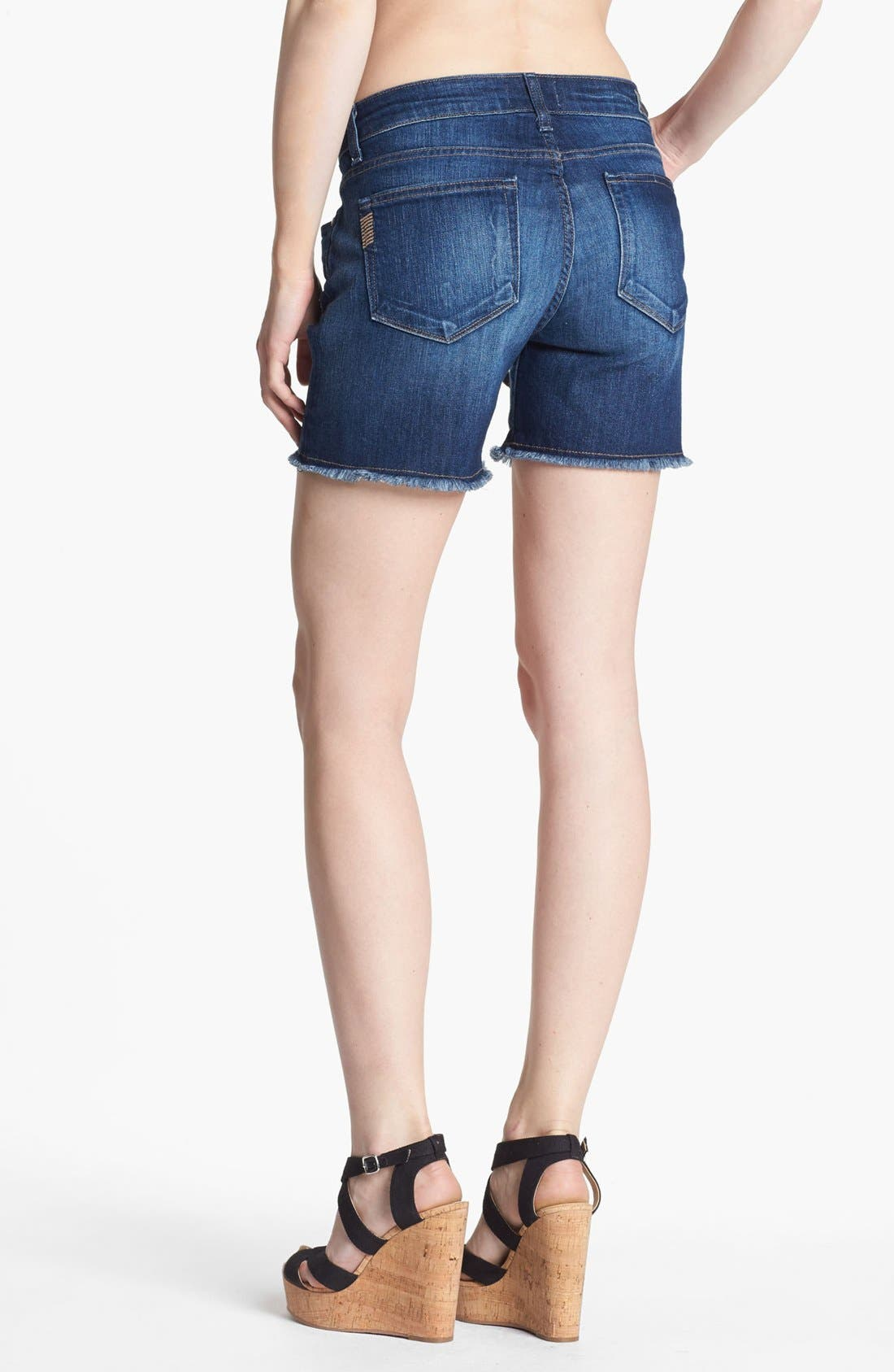 Alternate Image 2  - Paige Denim 'Jimmy Jimmy' Cutoff Denim Shorts (Penelope)