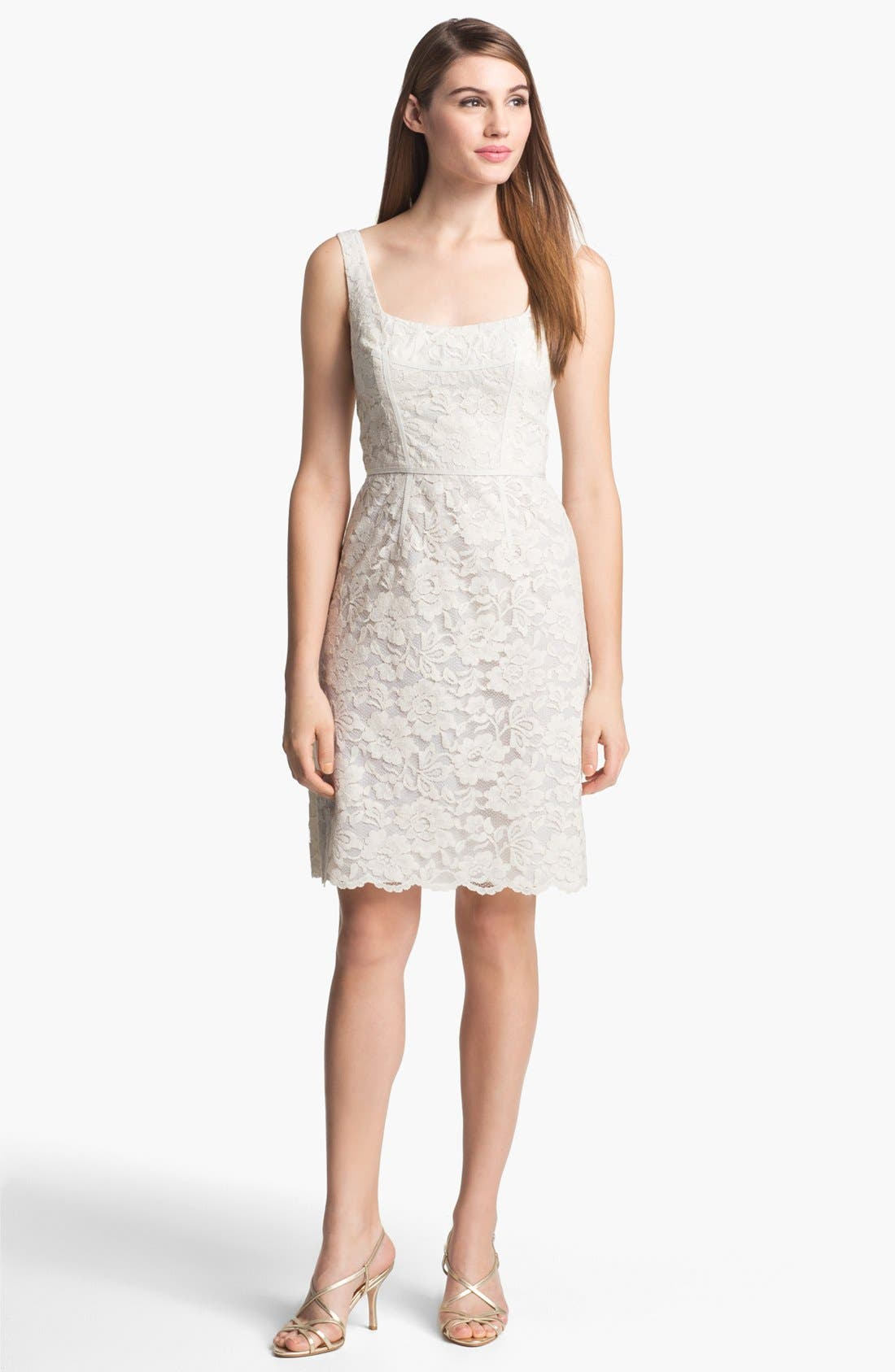 Alternate Image 1 Selected - Jill Jill Stuart Sleeveless Lace Dress