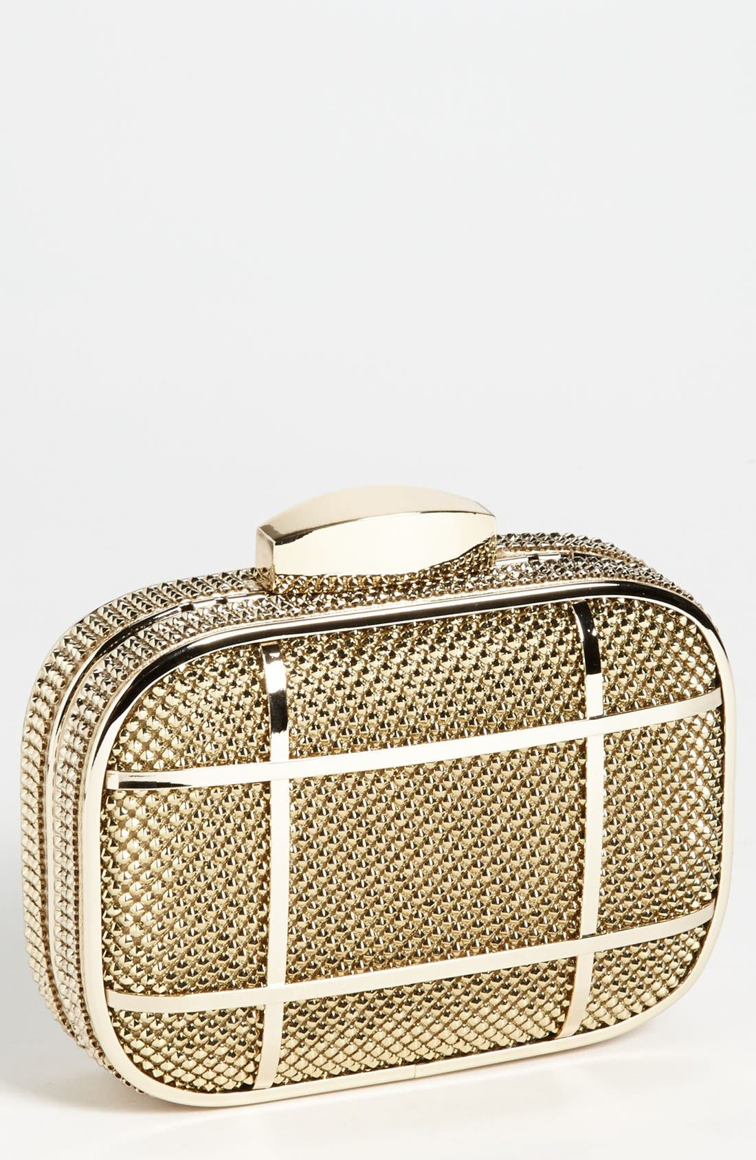 Alternate Image 1 Selected - Whiting & Davis Caged Minaudiere