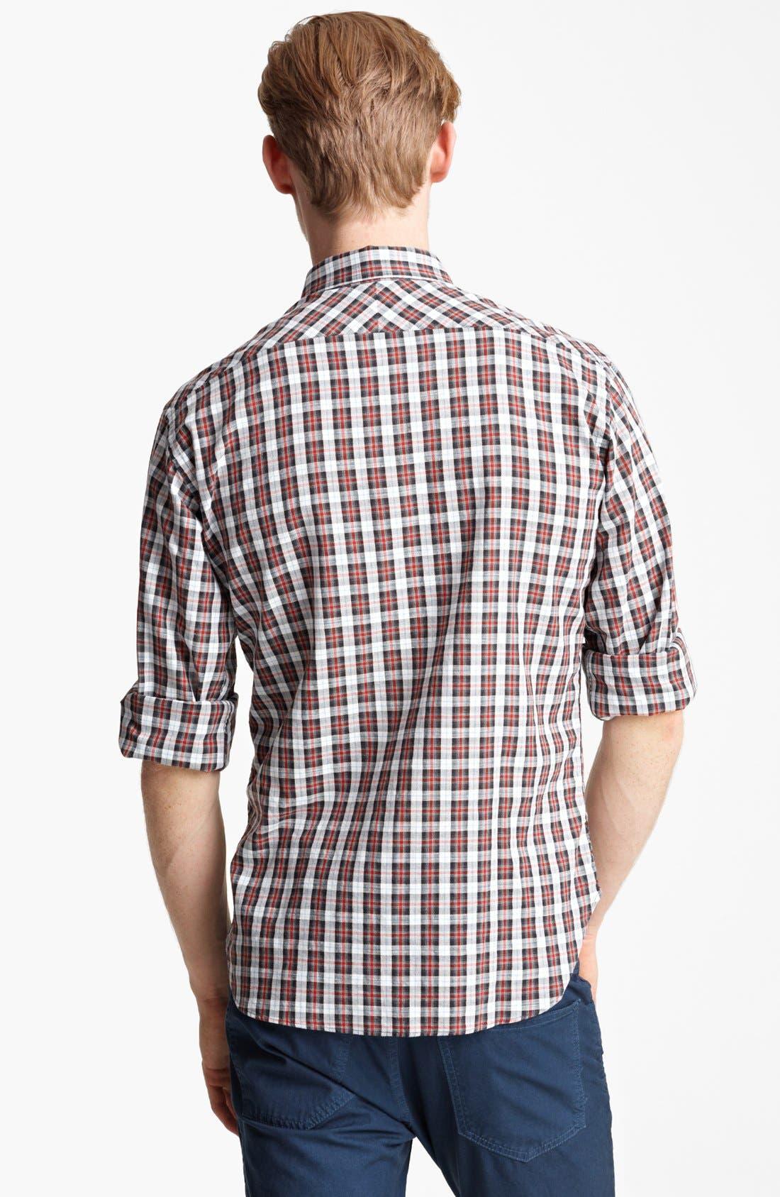 Alternate Image 2  - Billy Reid 'Walland' Plaid Woven Shirt