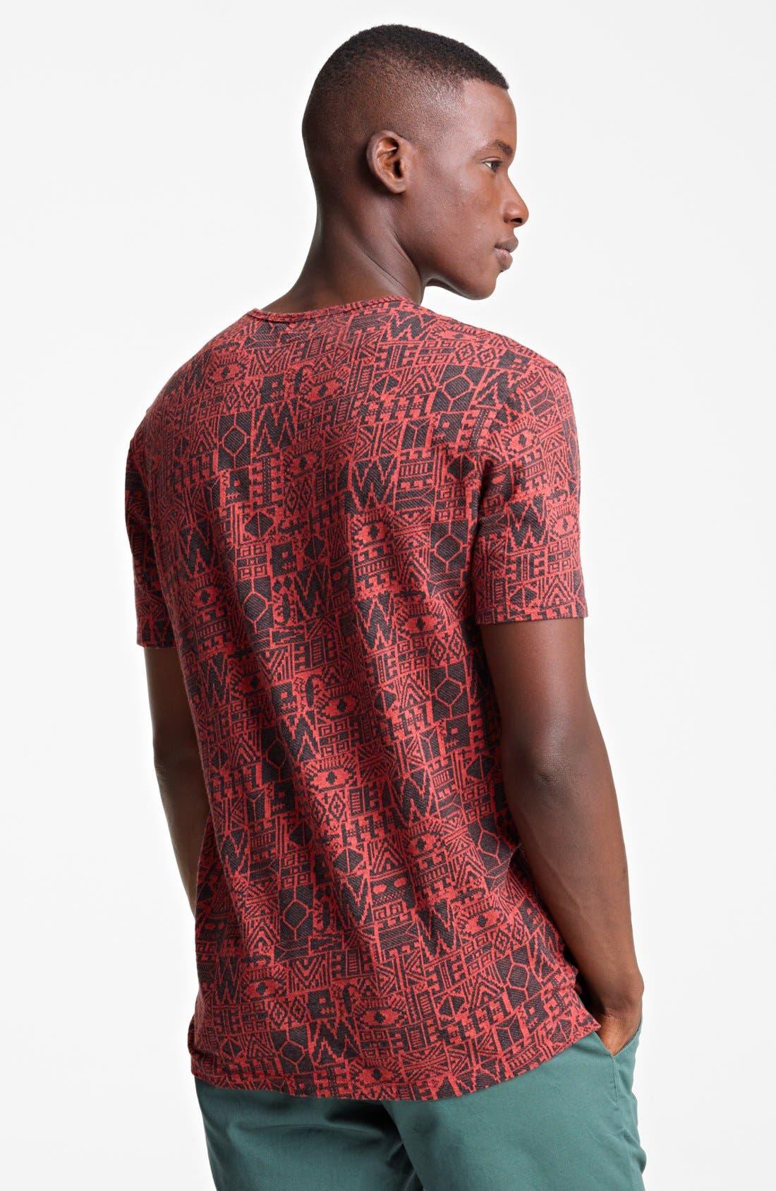 Alternate Image 2  - Paul Smith Jeans Geometric Print T-Shirt