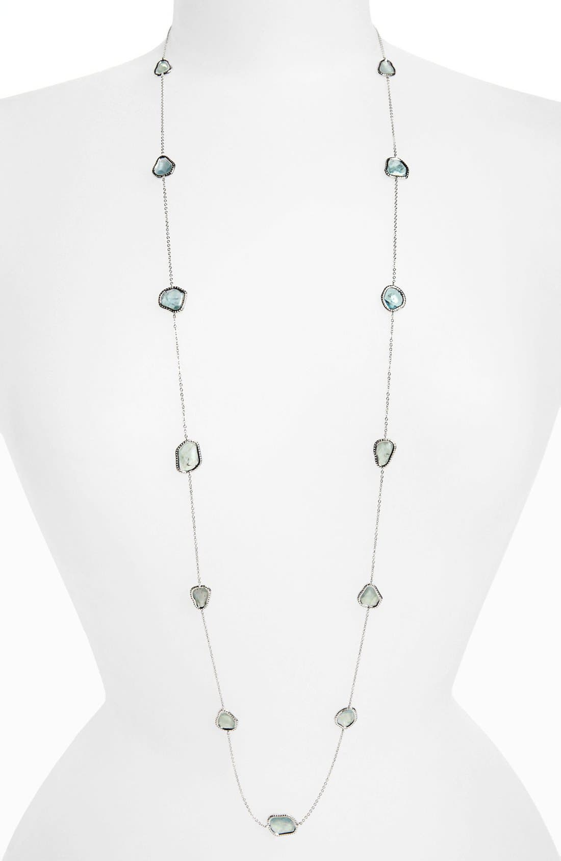 Alternate Image 1 Selected - Nadri Long Station Necklace (Nordstrom Exclusive)