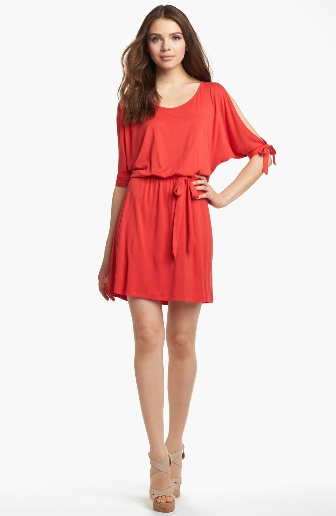 Alternate Image 1 Selected - Kensie Cold Shoulder Dress
