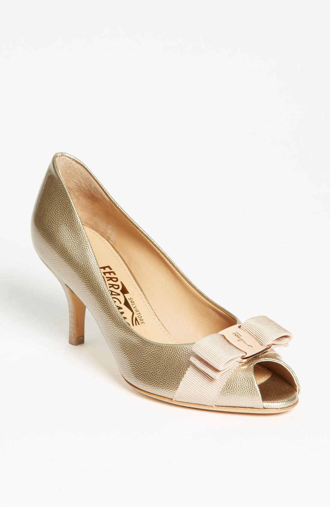 Alternate Image 1 Selected - Salvatore Ferragamo 'Ribes' Pump