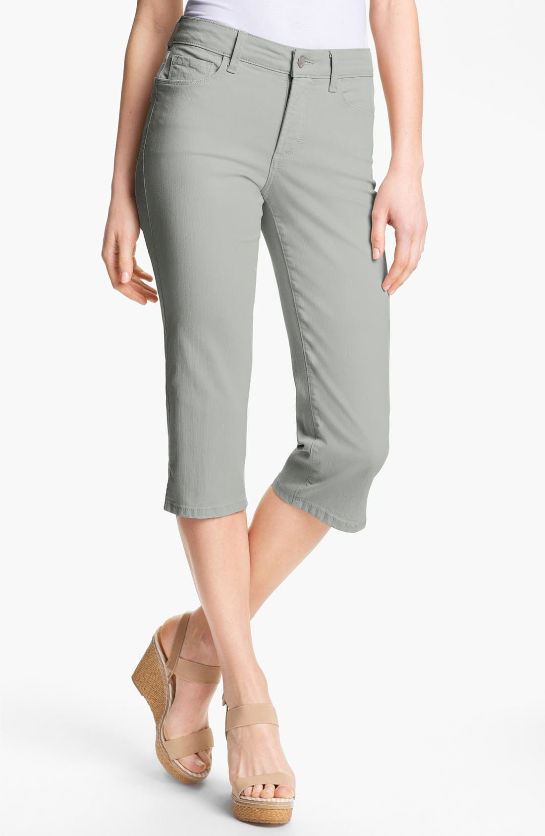 Alternate Image 1 Selected - NYDJ 'Nanette' Crop Stretch Jeans