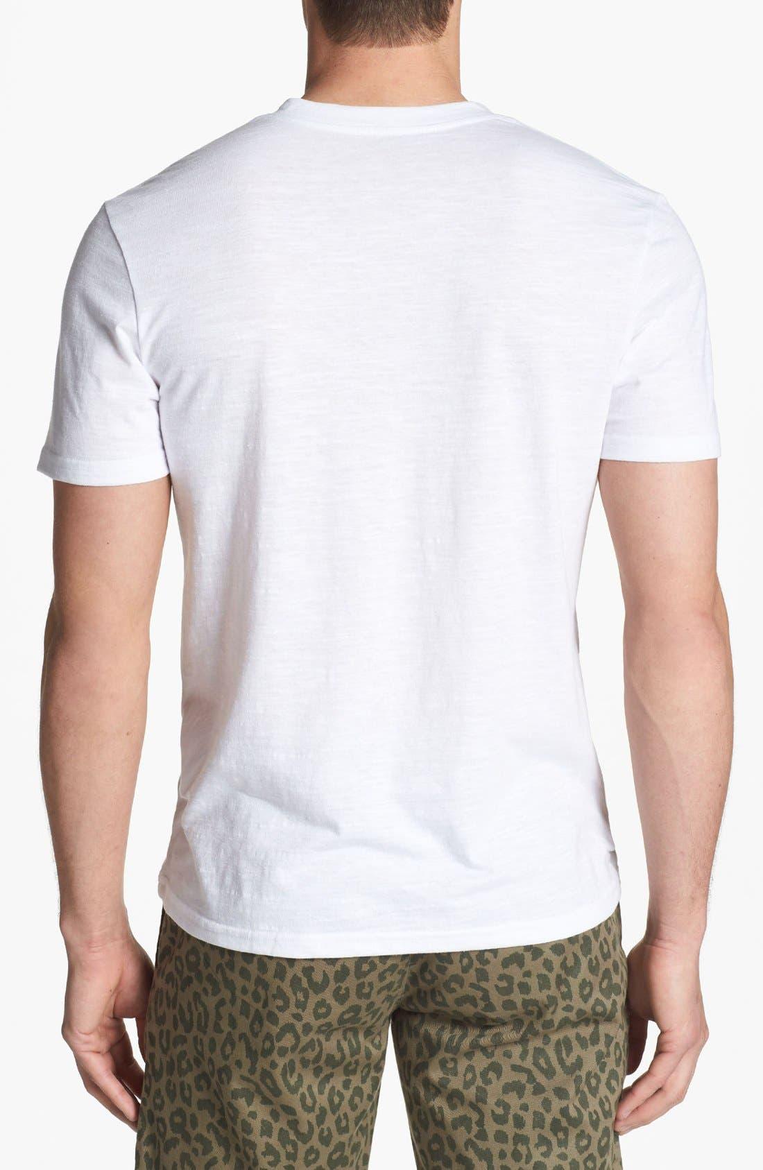 Alternate Image 2  - The Rail 'Mock Twist' Henley T-Shirt