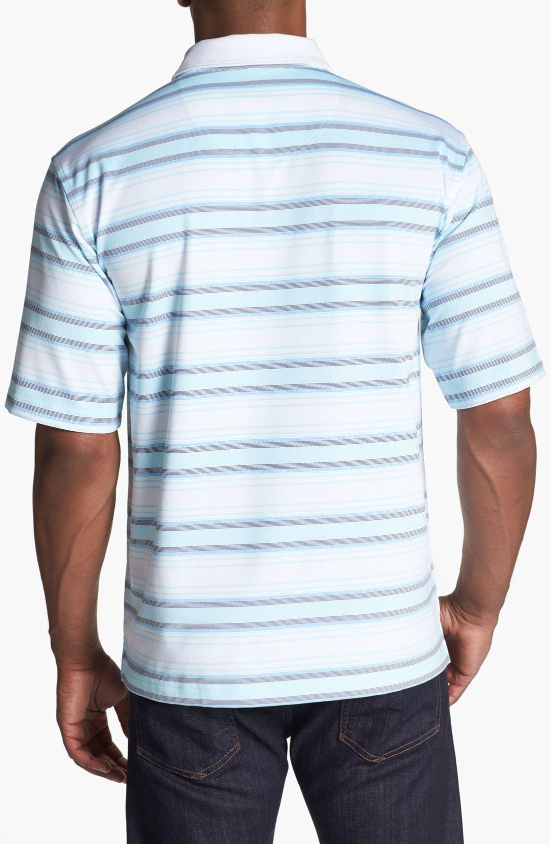 Alternate Image 2  - Lone Cypress Pebble Beach Striped Polo Shirt