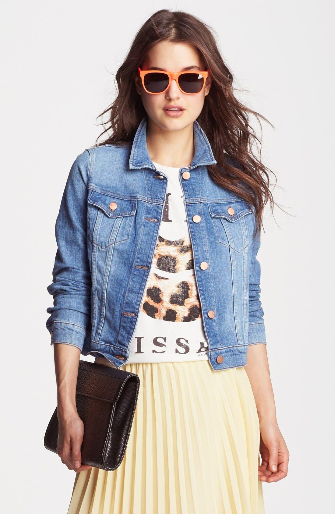 Alternate Image 1 Selected - J Brand Denim Jacket (Universe)