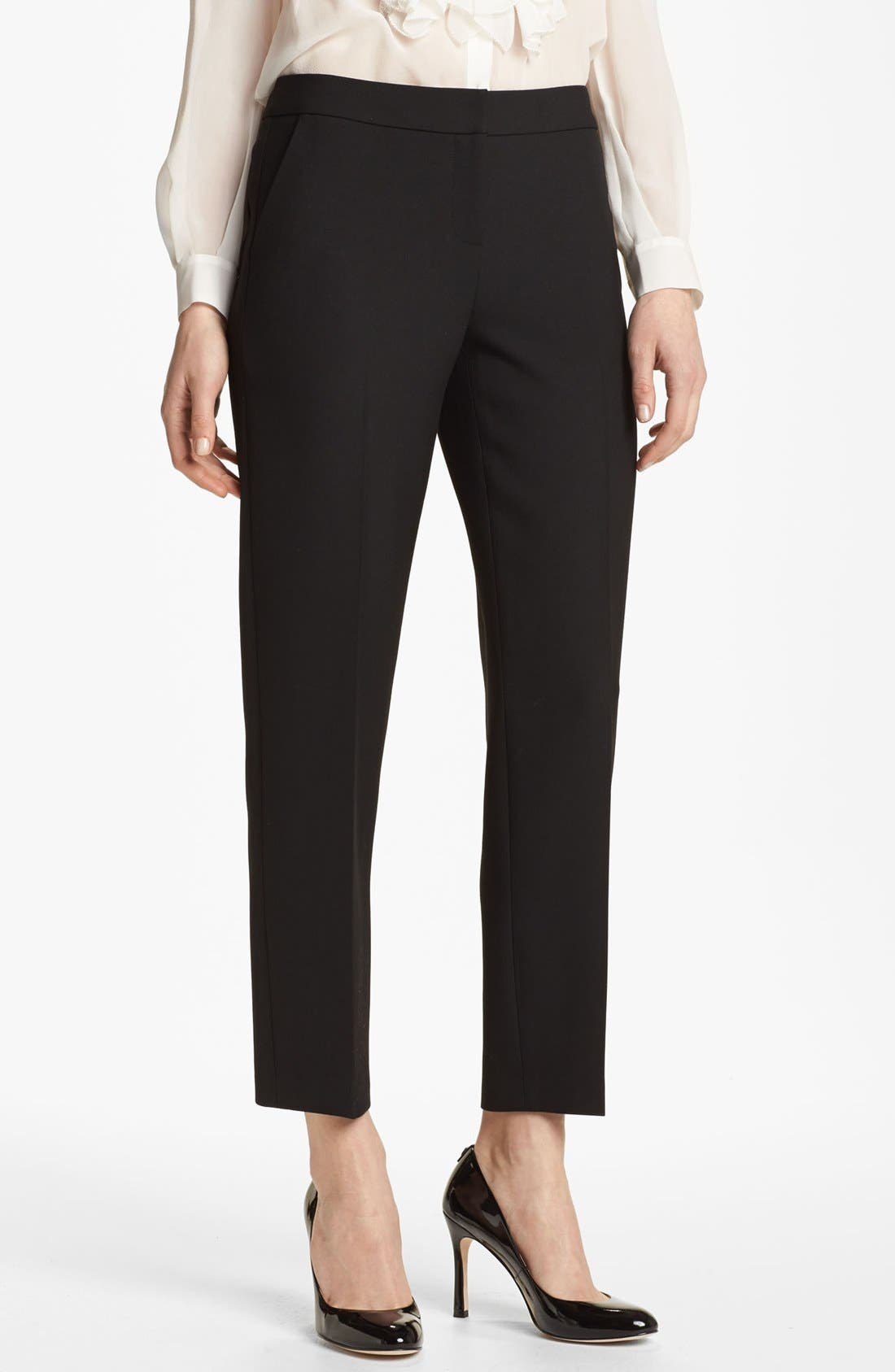 Alternate Image 1 Selected - Classiques Entier® 'Notion Weave' Slim Ankle Pants