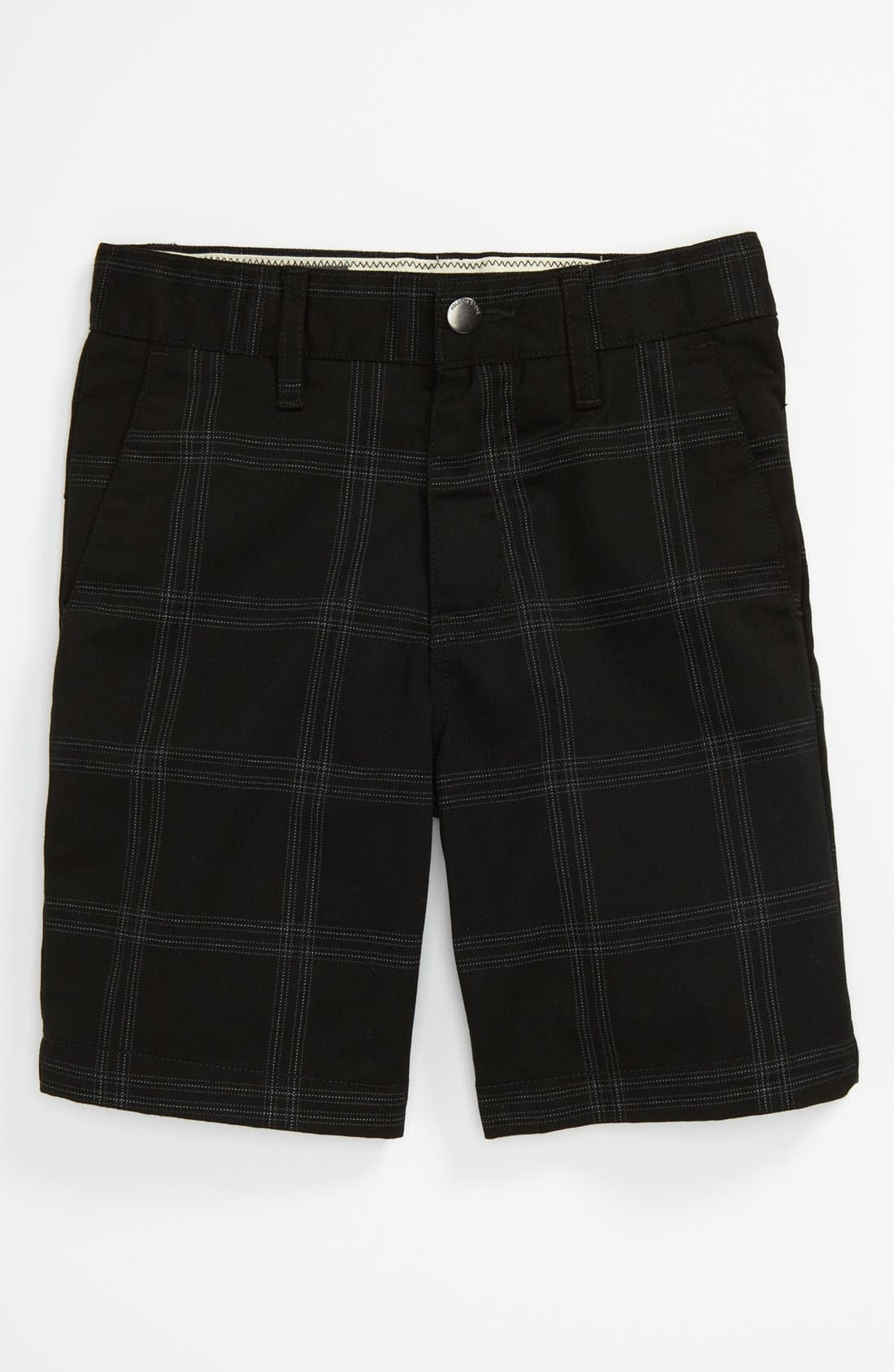 Main Image - Volcom Plaid Shorts (Little Boys)