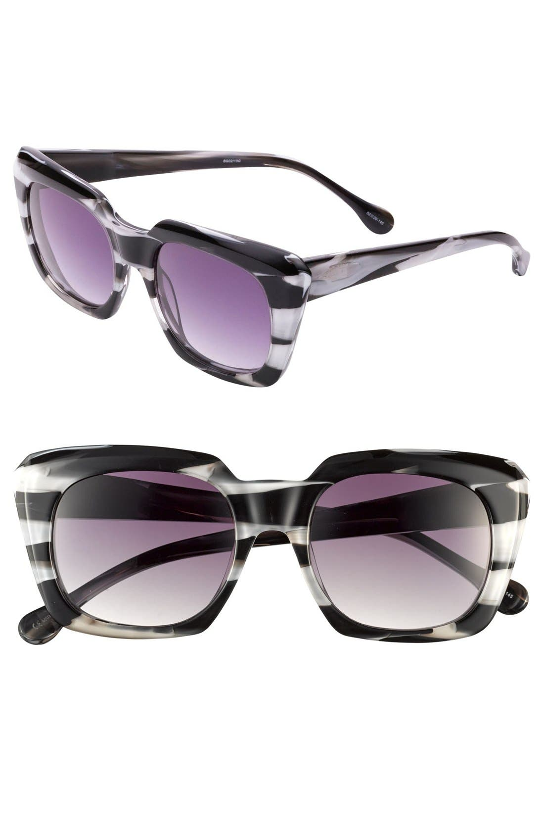 Alternate Image 1 Selected - Elizabeth and James 'Roosevelt' 52mm Sunglasses (Nordstrom Online Exclusive)