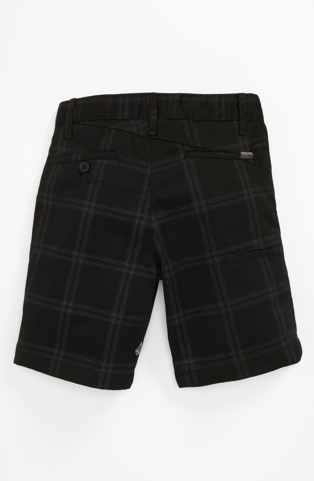 Alternate Image 2  - Volcom Plaid Shorts (Little Boys)