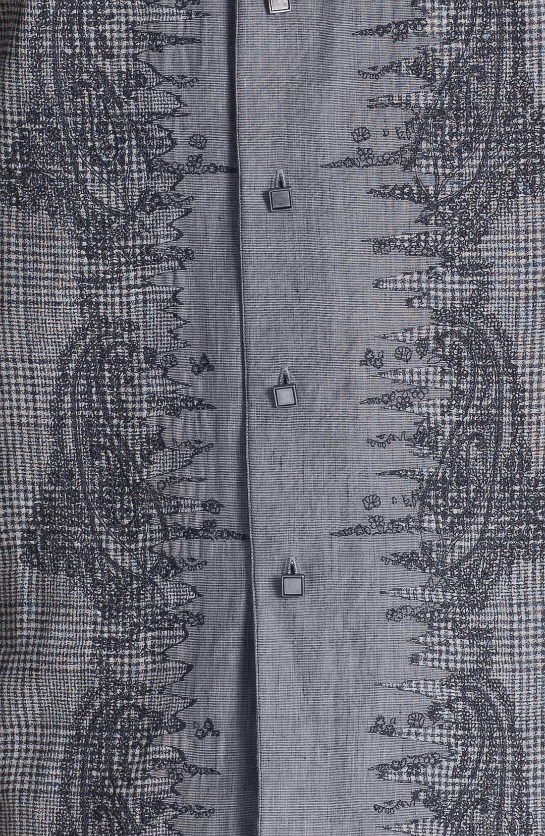 Alternate Image 3  - Robert Graham 'Crowne' Regular Fit Sport Shirt (Limited Edition)