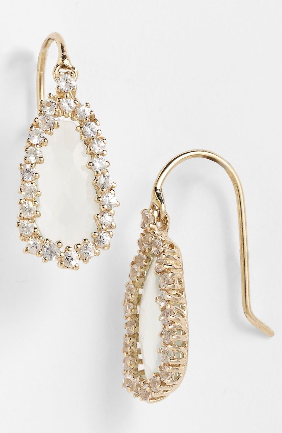 Alternate Image 1 Selected - KALAN by Suzanne Kalan Pear Shape Drop Earrings