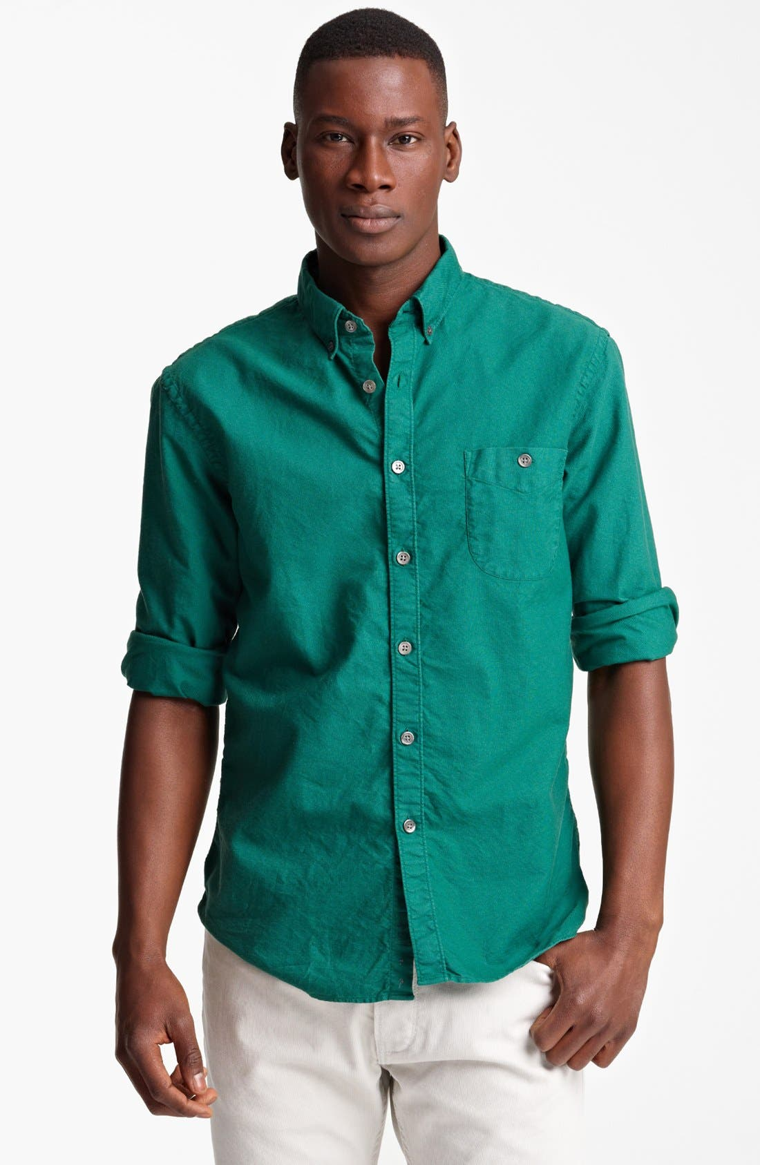 Alternate Image 1 Selected - Todd Snyder Oxford Sport Shirt