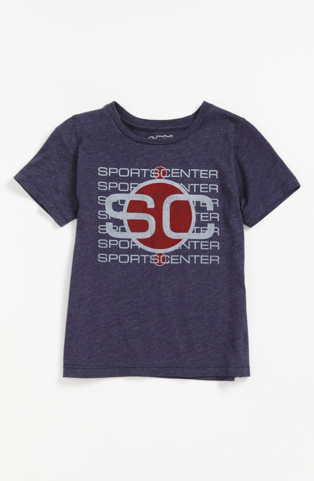 Alternate Image 1 Selected - Mighty Fine 'SportsCenter' T-Shirt (Little Boys)