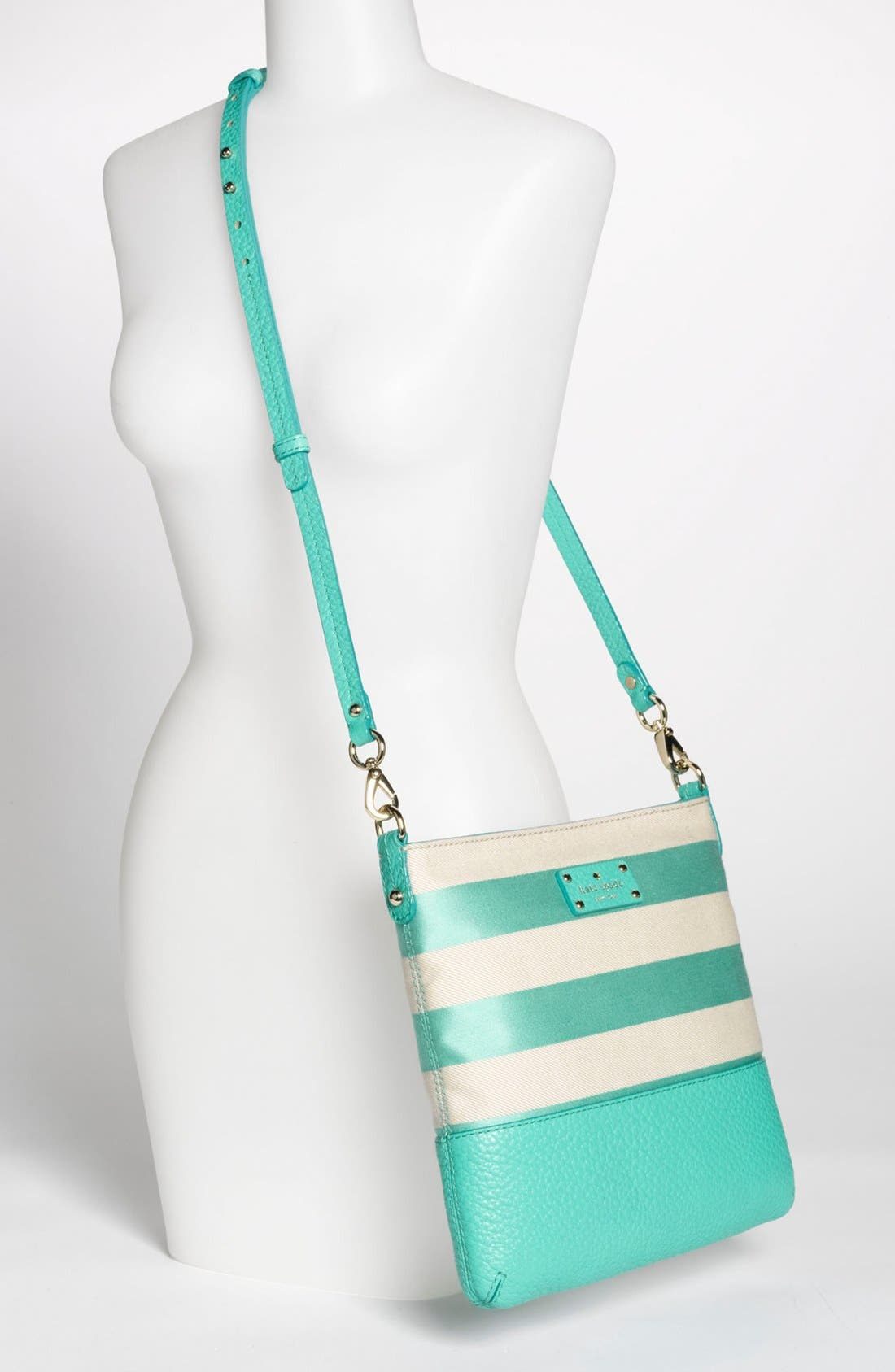 Alternate Image 2  - kate spade new york 'grove court stripe - cora' crossbody bag