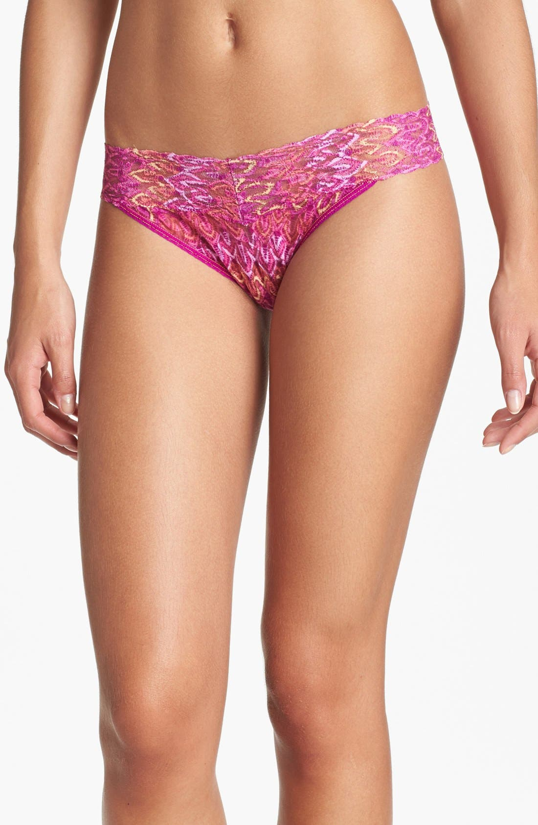 Alternate Image 1 Selected - Hanky Panky 'Flame' Regular Rise Thong