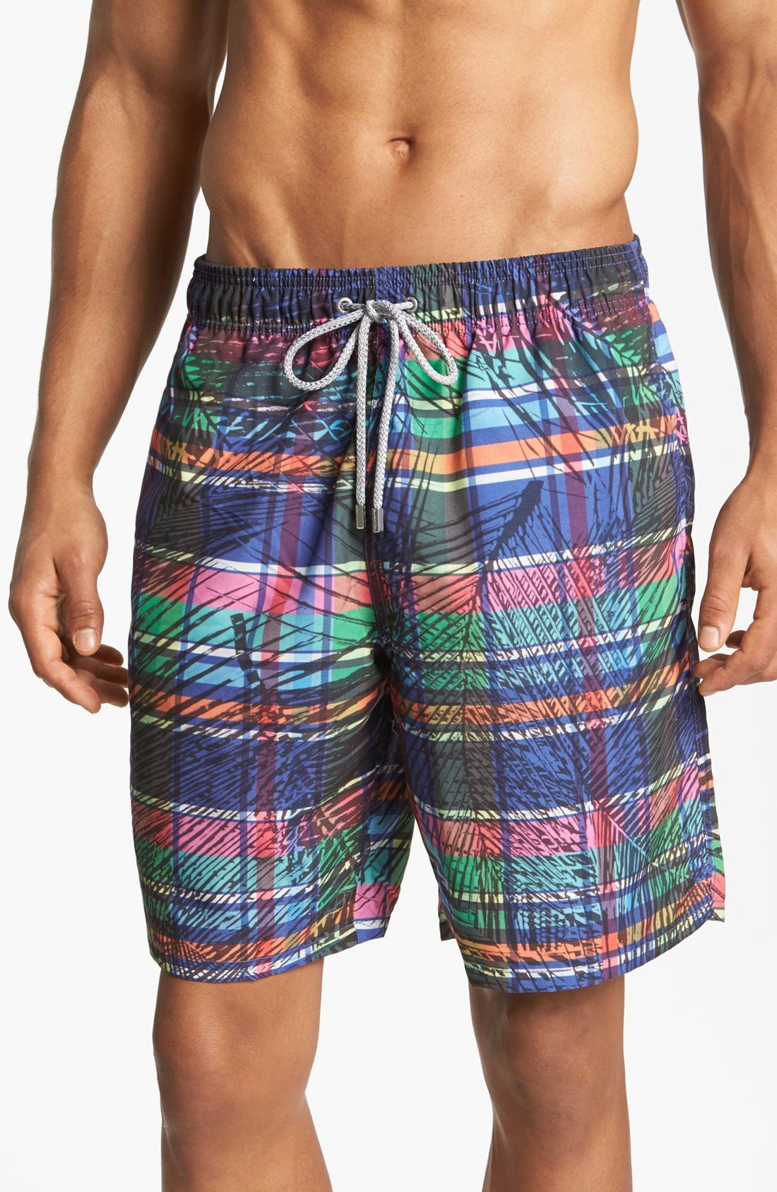 Alternate Image 1 Selected - Bugatchi Uomo Swim Trunks