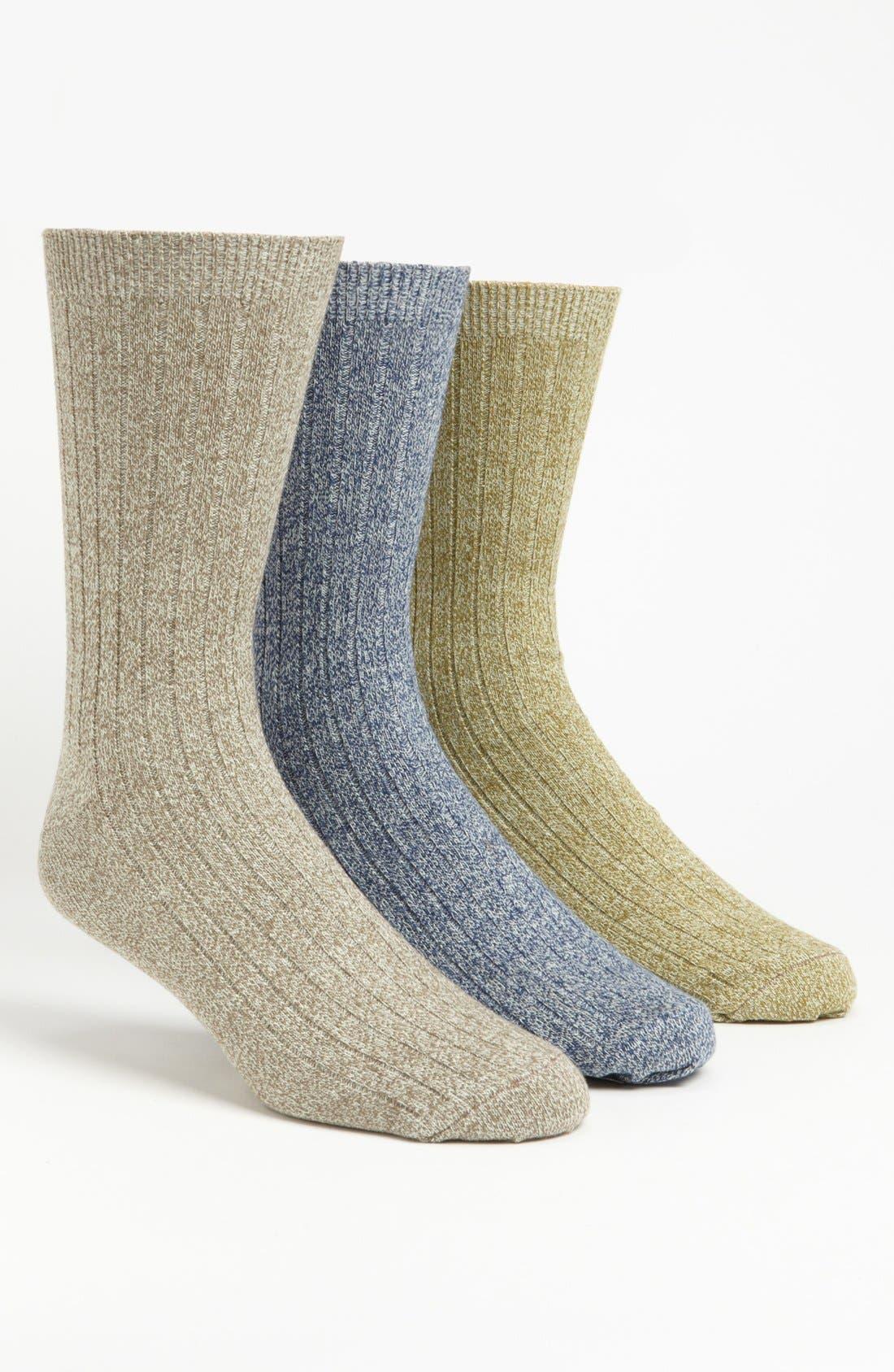 Alternate Image 1 Selected - Topman Marled Socks (3-Pack)