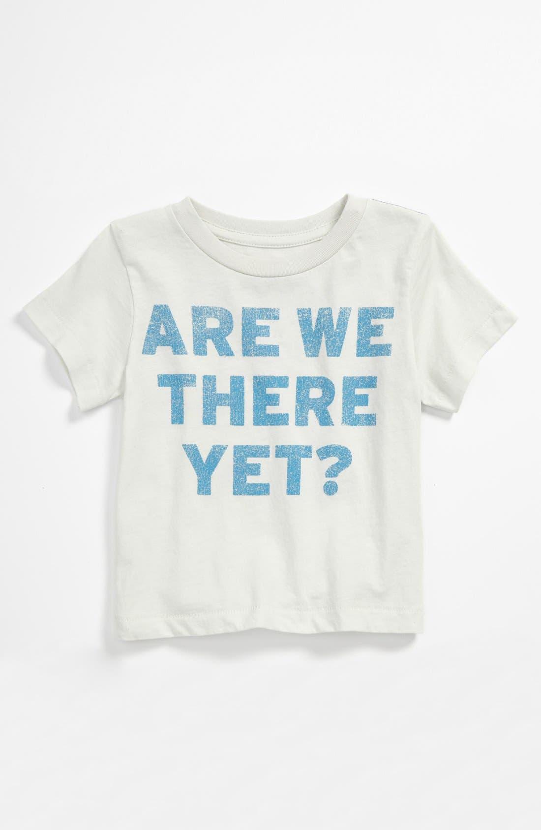 Alternate Image 1 Selected - Peek 'Road Trip' T-Shirt (Baby)