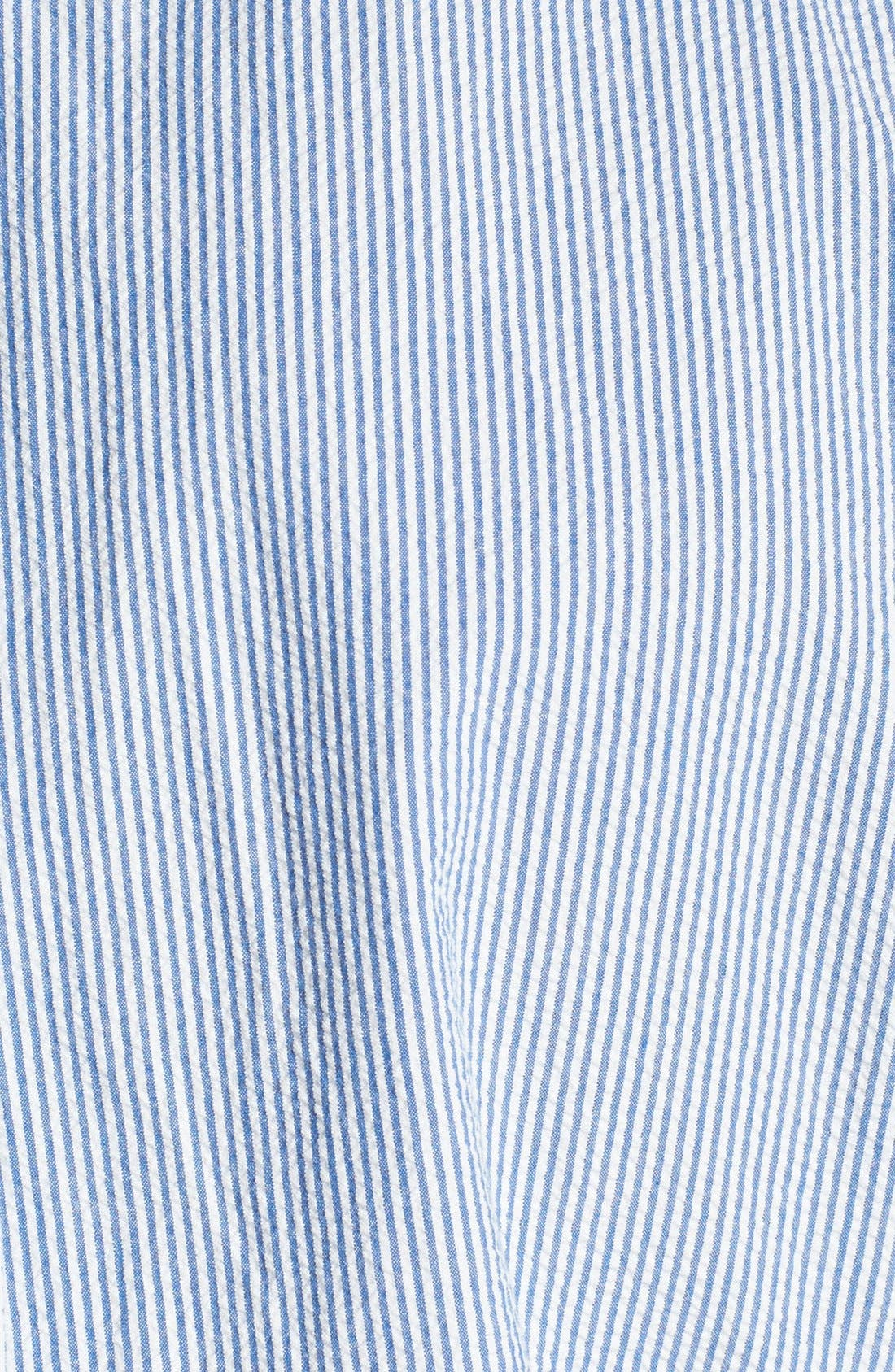 Alternate Image 3  - Polo Ralph Lauren Short Sleeve Seersucker Sport Shirt