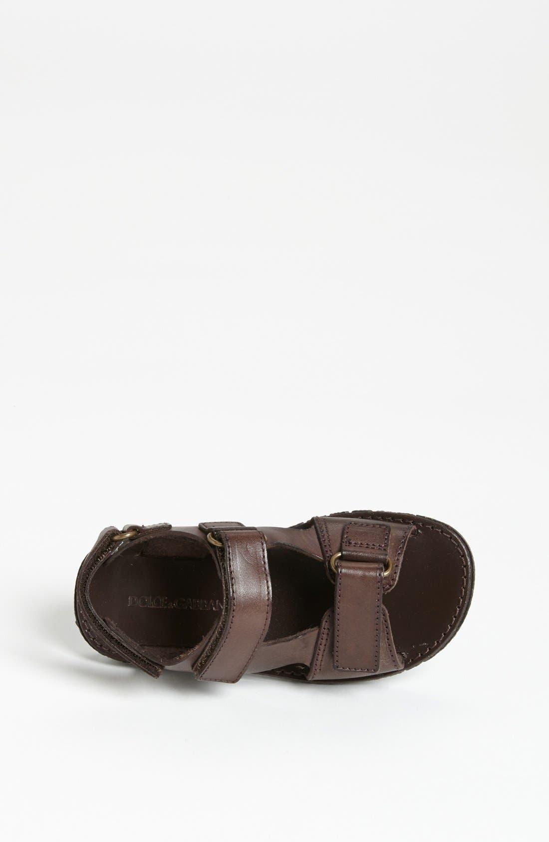 Alternate Image 3  - Dolce&Gabbana Sandal (Toddler)