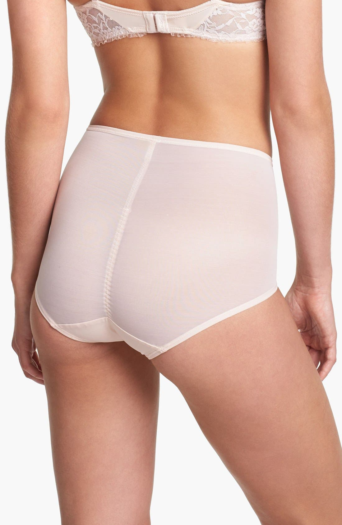 Alternate Image 2  - DKNY 'Underslimmers Signature Lace' Shaping Briefs (Online Only)