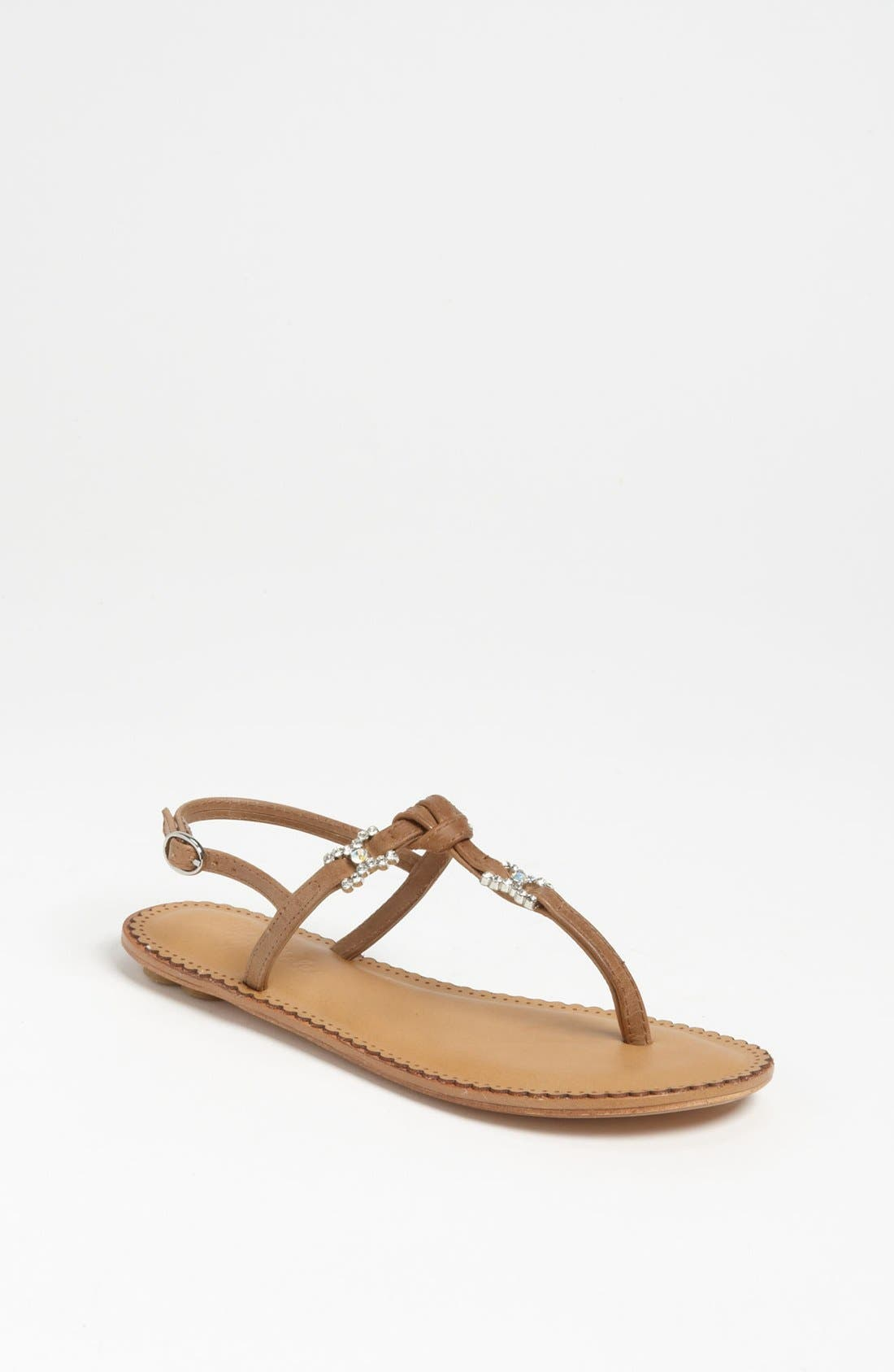 Alternate Image 1 Selected - Lucky Sole 'Capri' Sandal (Little Kid & Big Kid)