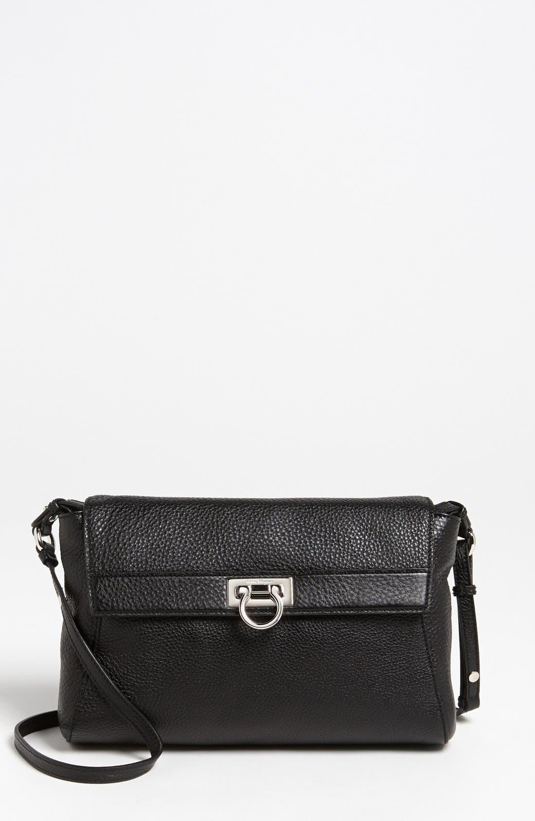 Main Image - Salvatore Ferragamo 'Small Abbey' Leather Crossbody Bag