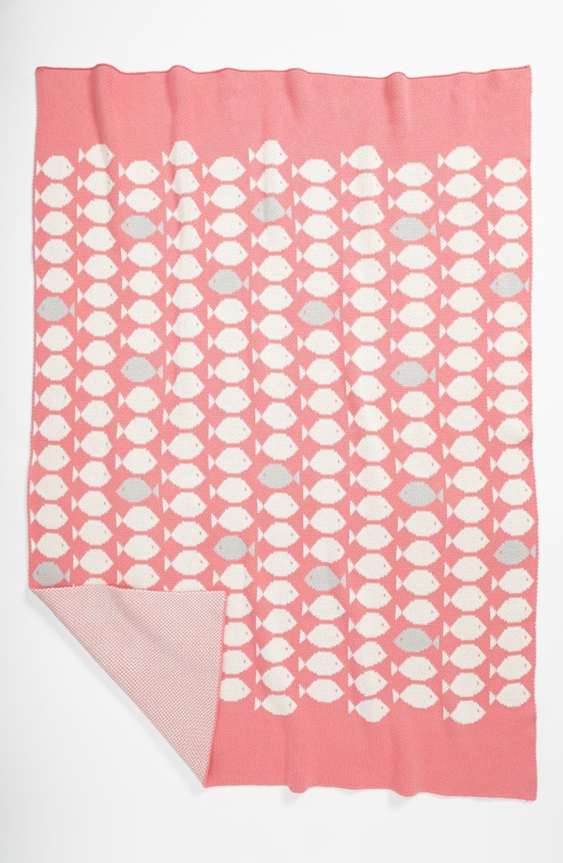 Alternate Image 2  - Stem Baby 'Fashion' Organic Cotton Blanket