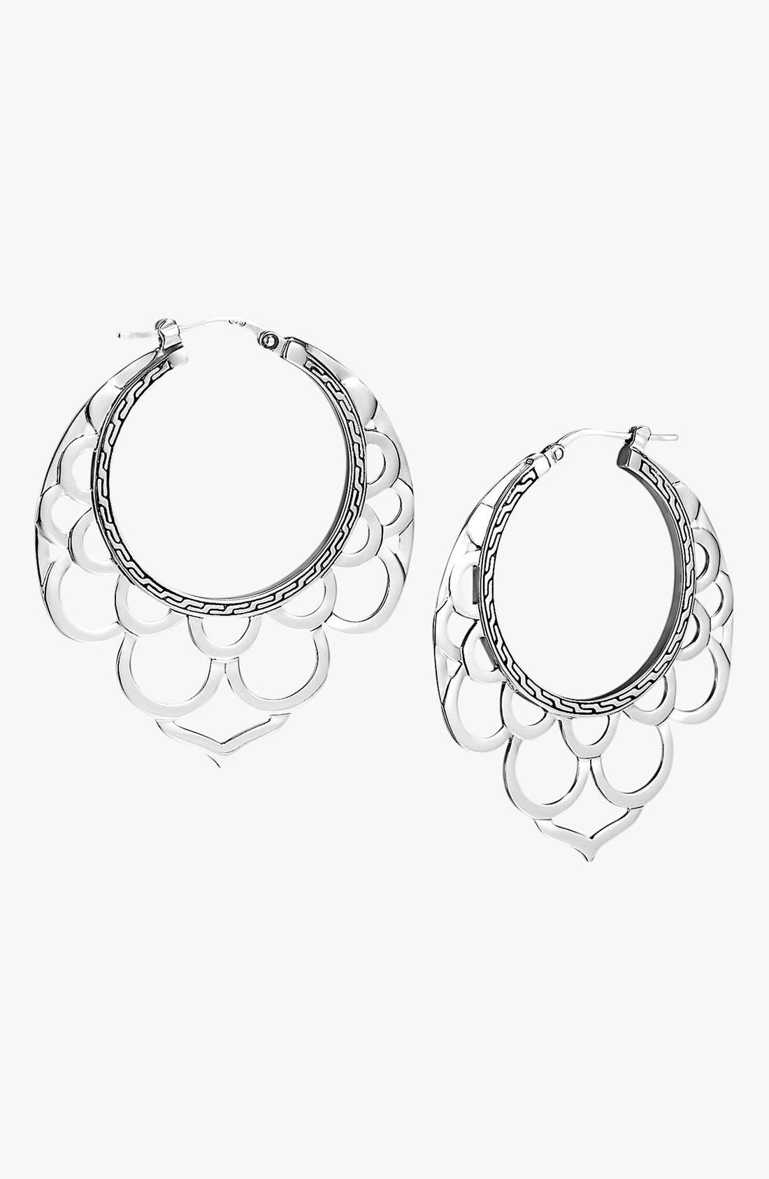 Alternate Image 1 Selected - John Hardy 'Naga' Hoop Earrings