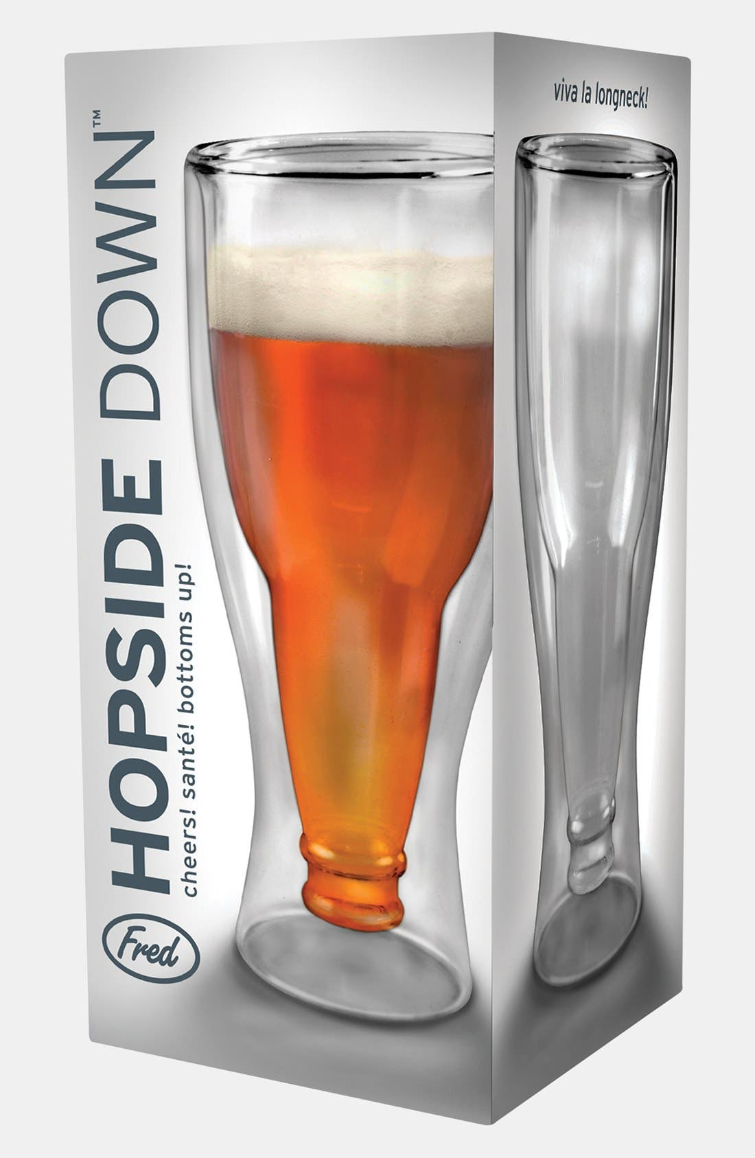 Alternate Image 2  - Upside Down Beer Bottle Glass