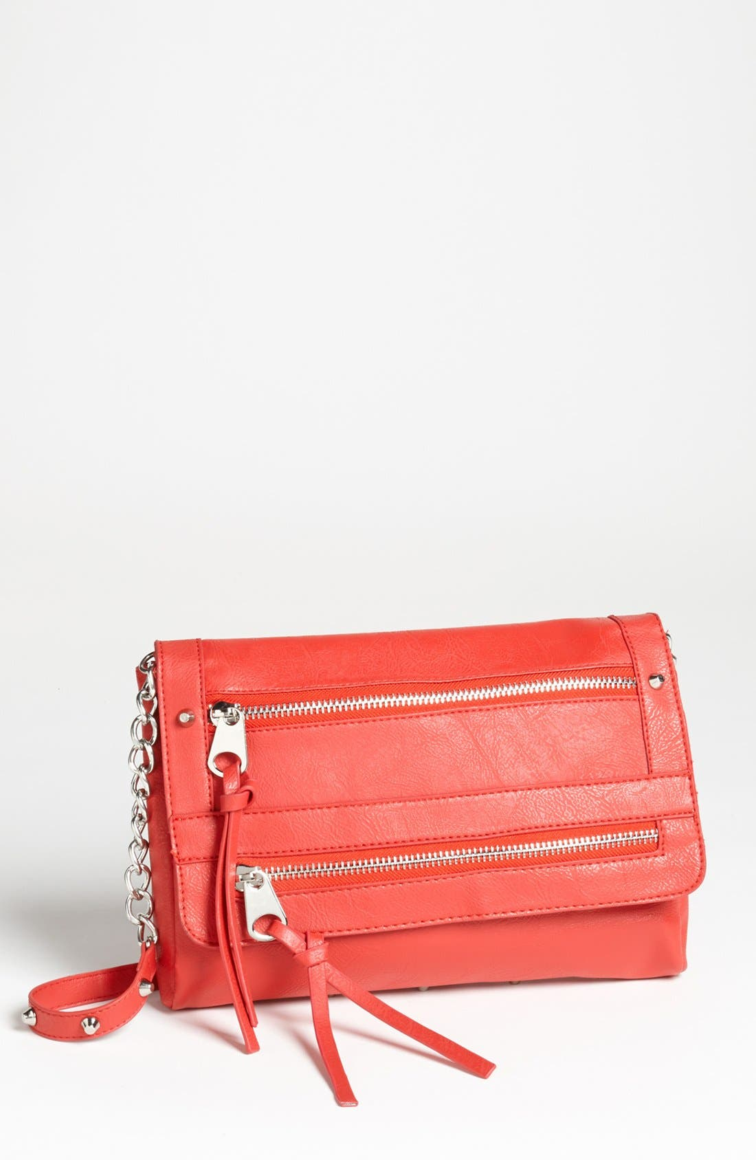 Alternate Image 1 Selected - Cesca '15th Street' Faux Leather Crossbody Bag, Small (Juniors) (Online Only)