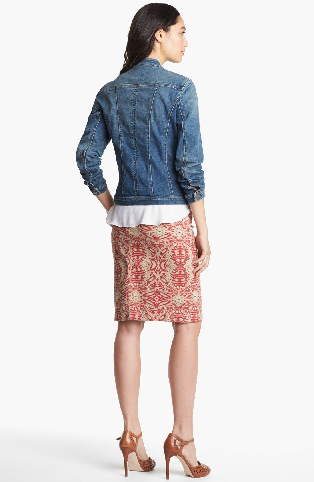 Alternate Image 3  - NYDJ 'Emma' Stretch Twill Skirt