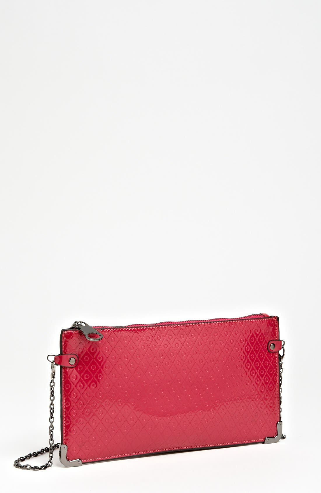 Alternate Image 1 Selected - POVERTY FLATS by rian Faux Leather Crossbody Clutch