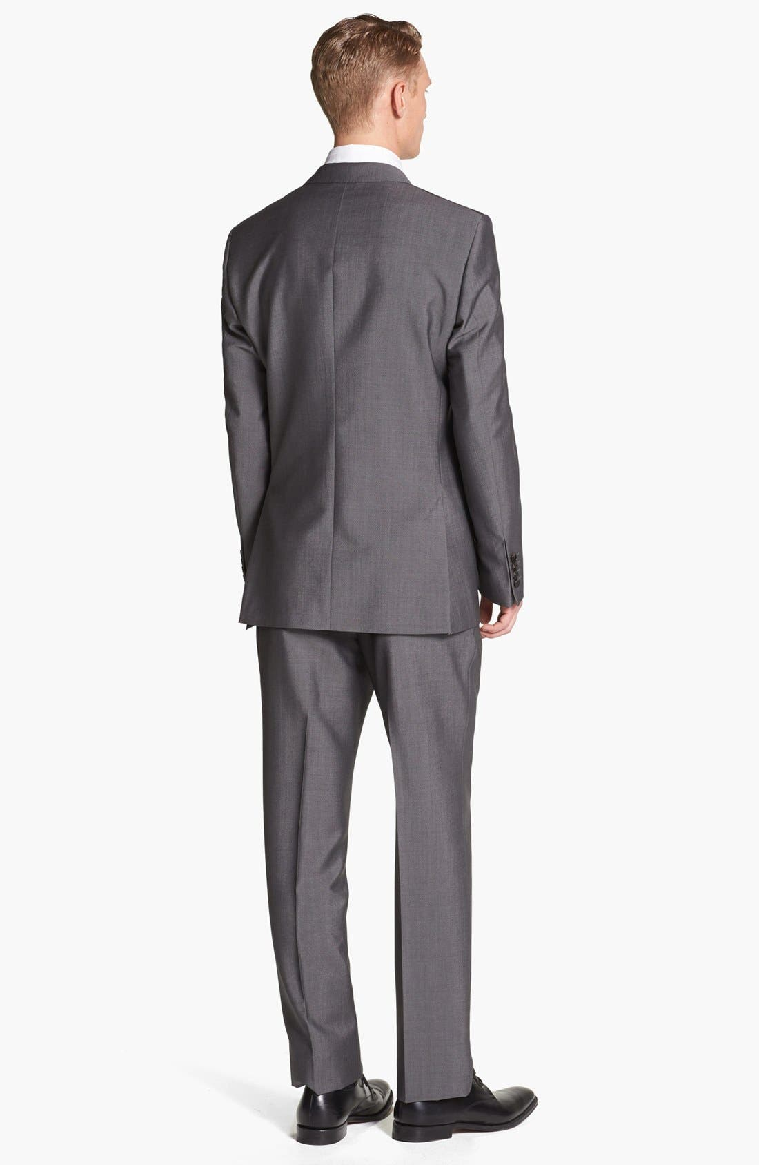 Alternate Image 3  - Burberry London Trim Fit Grey Wool & Mohair Suit