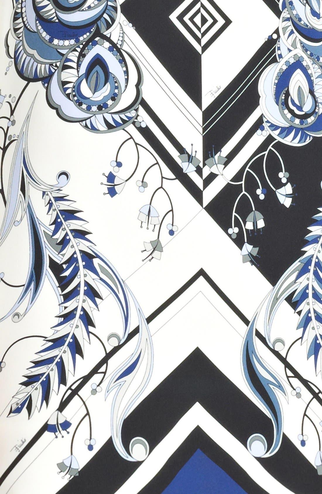 Alternate Image 3  - Emilio Pucci 'Jazz' Print Silk Tunic Dress